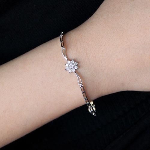 bracelet femme argent zirconium 9500104 pic4