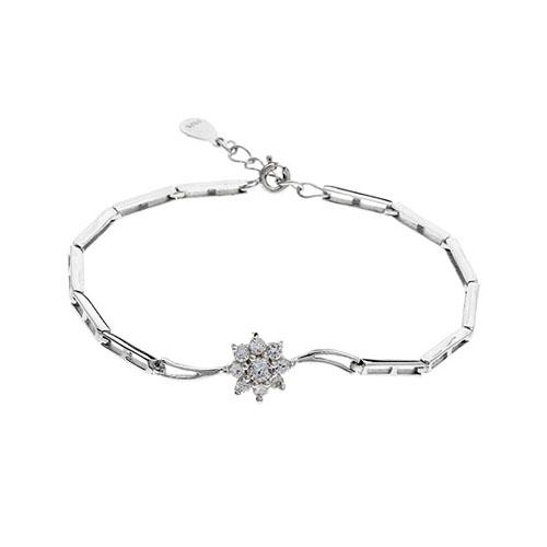 bracelet femme argent zirconium 9500104