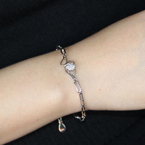bracelet femme argent zirconium 9500105 pic4