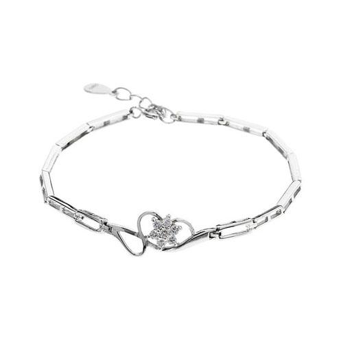 bracelet femme argent zirconium 9500105
