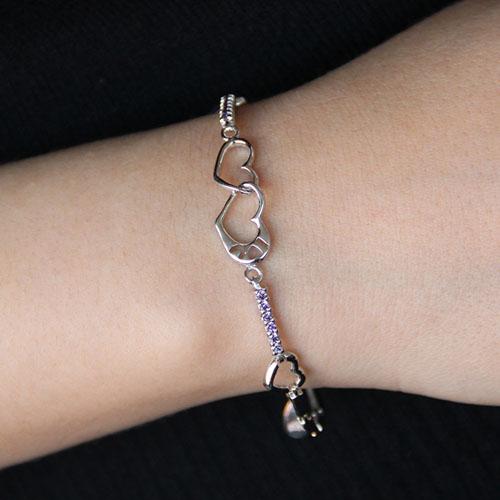 bracelet femme argent zirconium 9500108 pic4
