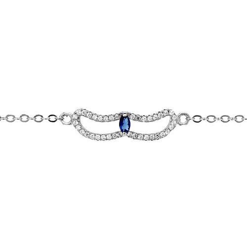 bracelet femme argent zirconium 9500168 pic2