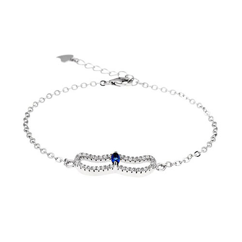 bracelet femme argent zirconium 9500168