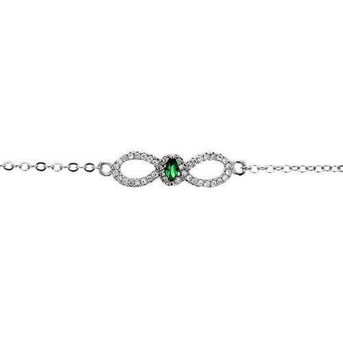 bracelet femme argent zirconium 9500169 pic2