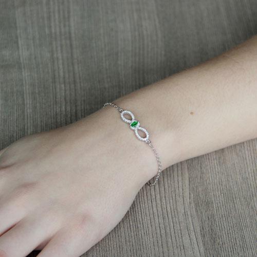 bracelet femme argent zirconium 9500169 pic4