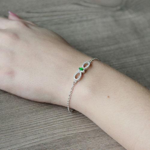 bracelet femme argent zirconium 9500169 pic5