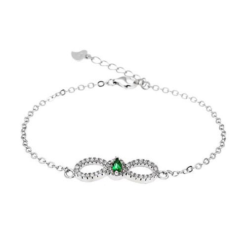 bracelet femme argent zirconium 9500169