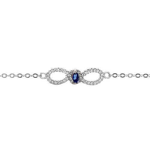 bracelet femme argent zirconium 9500170 pic2