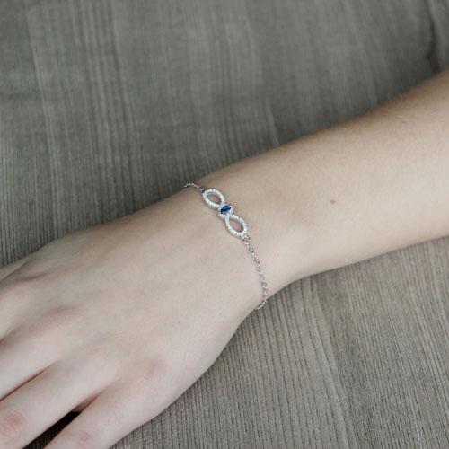 bracelet femme argent zirconium 9500170 pic4