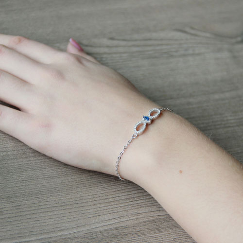 bracelet femme argent zirconium 9500170 pic5