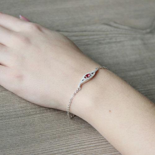 bracelet femme argent zirconium 9500171 pic5