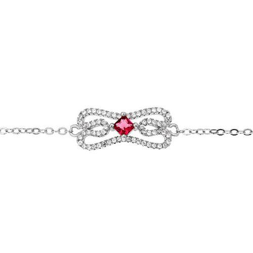 bracelet femme argent zirconium 9500174 pic2