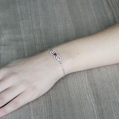 bracelet femme argent zirconium 9500174 pic5