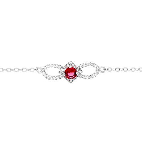 bracelet femme argent zirconium 9500175 pic2