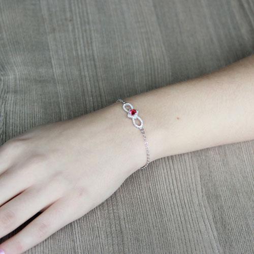 bracelet femme argent zirconium 9500175 pic4