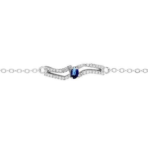 bracelet femme argent zirconium 9500177 pic2