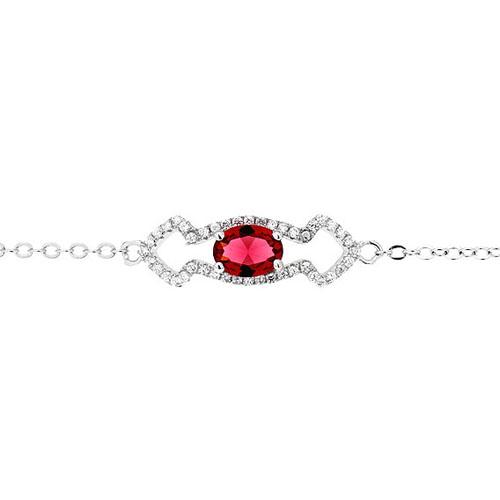 bracelet femme argent zirconium 9500178 pic2