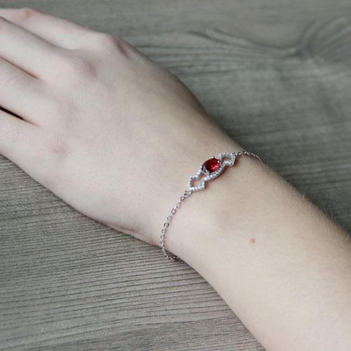 bracelet femme argent zirconium 9500178 pic5