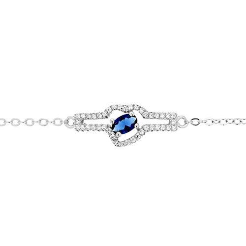 bracelet femme argent zirconium 9500179 pic2