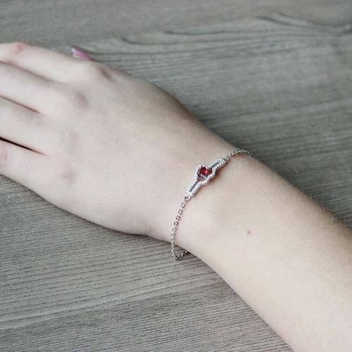 bracelet femme argent zirconium 9500180 pic5