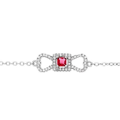 bracelet femme argent zirconium 9500181 pic2