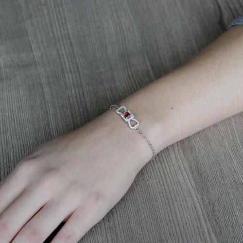 bracelet femme argent zirconium 9500181 pic4