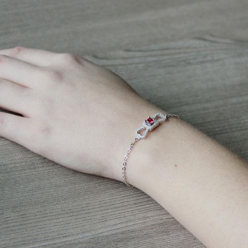 bracelet femme argent zirconium 9500181 pic5