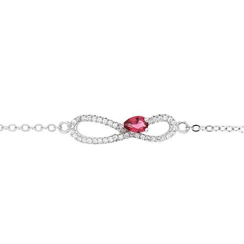 bracelet femme argent zirconium 9500182 pic2
