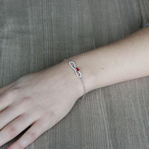 bracelet femme argent zirconium 9500182 pic4