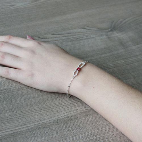 bracelet femme argent zirconium 9500182 pic5