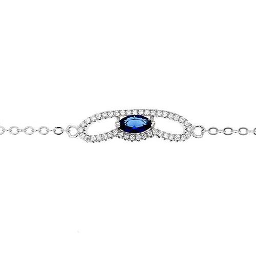 bracelet femme argent zirconium 9500183 pic2