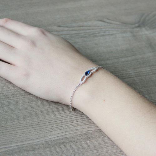 bracelet femme argent zirconium 9500183 pic5