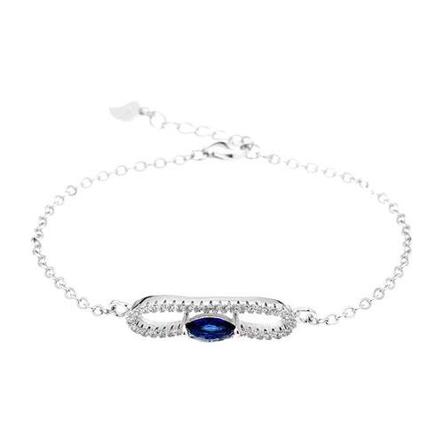 bracelet femme argent zirconium 9500183