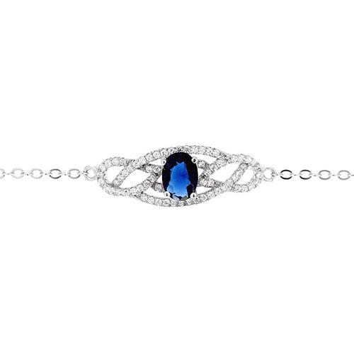 bracelet femme argent zirconium 9500188 pic2