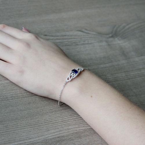 bracelet femme argent zirconium 9500188 pic5