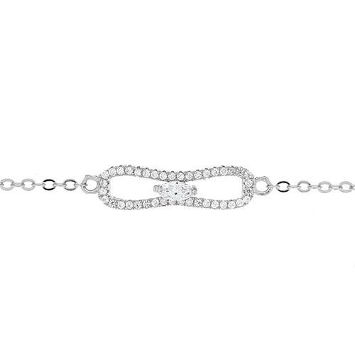 bracelet femme argent zirconium 9500190 pic2