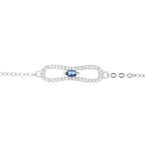 bracelet femme argent zirconium 9500191 pic2