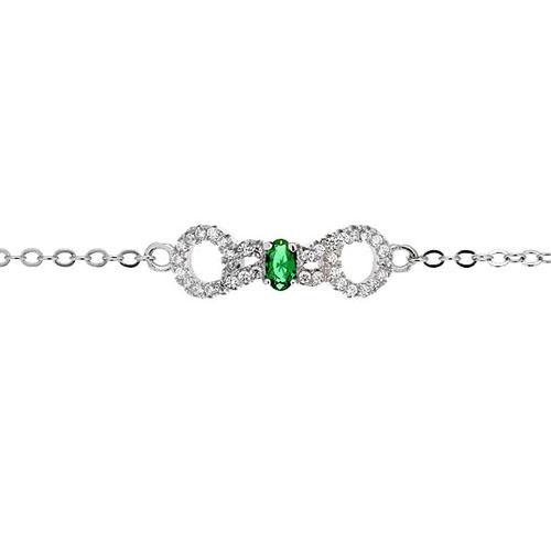 bracelet femme argent zirconium 9500193 pic2