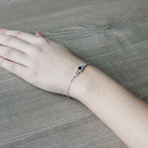 bracelet femme argent zirconium 9500194 pic5