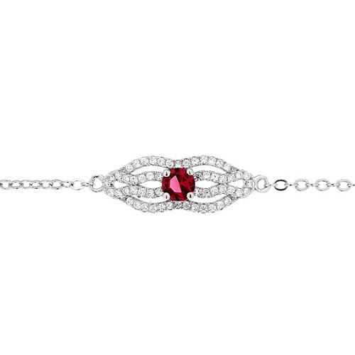 bracelet femme argent zirconium 9500196 pic2