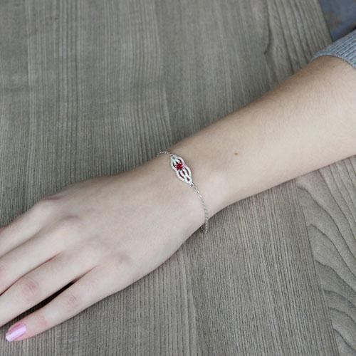 bracelet femme argent zirconium 9500196 pic4