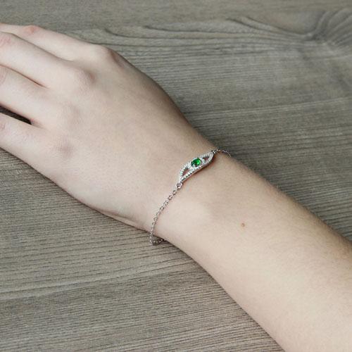 bracelet femme argent zirconium 9500198 pic5