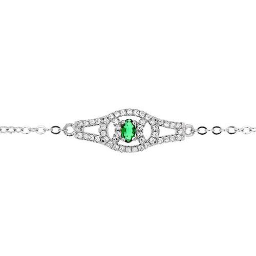 bracelet femme argent zirconium 9500200 pic2