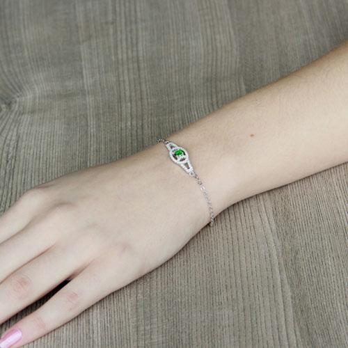 bracelet femme argent zirconium 9500200 pic4