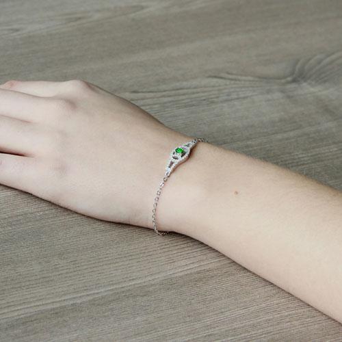 bracelet femme argent zirconium 9500200 pic5