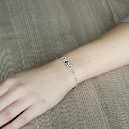 bracelet femme argent zirconium 9500202 pic4