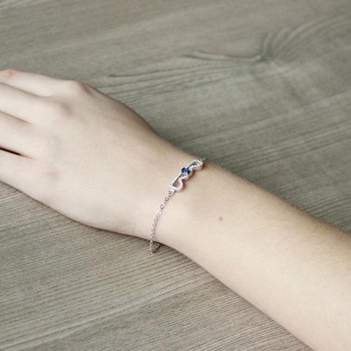 bracelet femme argent zirconium 9500202 pic5
