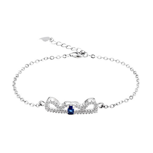 bracelet femme argent zirconium 9500202