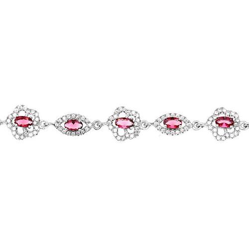 bracelet femme argent zirconium 9500203 pic2