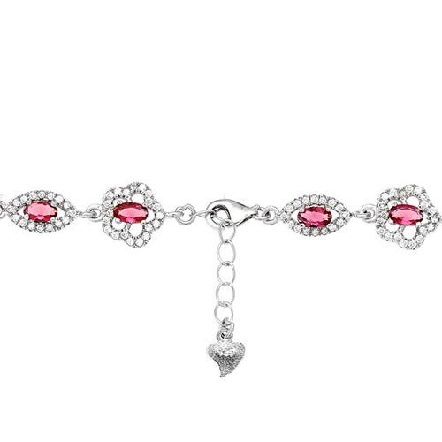 bracelet femme argent zirconium 9500203 pic3